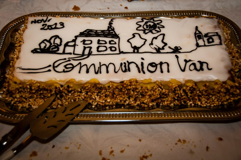 16 et 17 novembre : WE Communion Van